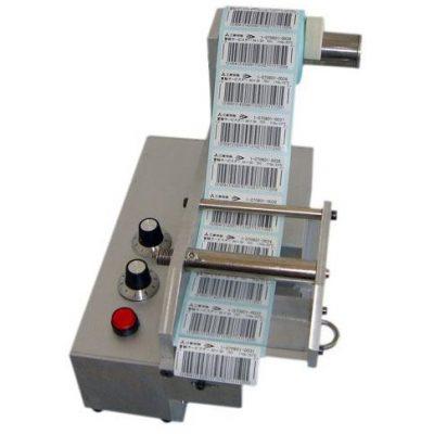 aplikator etykiet z regulacją prędkości podawania
